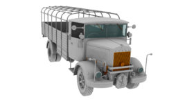 1//35 IBG 35055 3Ro Italian Truck Troop Carrier
